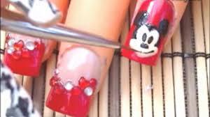 disney mickey mouse nail art design tutorial video dailymotion