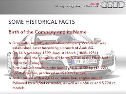 audi car company name marketing my audi presentation
