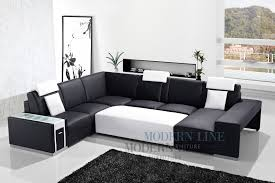 Large Black Leather Sofa Living Room Design Awesome Black Leather Sectional For