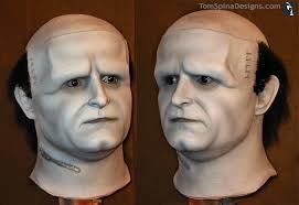 frankenstein mask vintage glenn strange don post frankenstein mask restoration tom