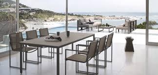 modern outdoor dining table modern outdoor dining set interior design ideas