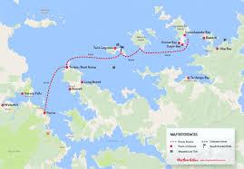 Kayak Map Bay Of Islands Kayak Rentals Bay Beach Hire In Paihia