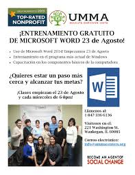 Stable In Spanish by Microsoft Word 2014 Class In Spanish Every Wednesday 6 To 8pm