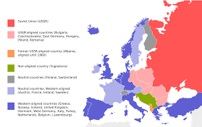 East Europe Map by Eastern Bloc Wikipedia
