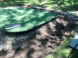 Putting Turf In Backyard How To Diy A Backyard Putting Green On The Cheap Dirty Larry Golf