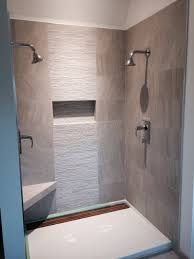 12x24 Tile Bathroom Contemporary Shower 12x24 Tile With 12x24 Muretto Accent