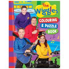 wiggles colouring book big w
