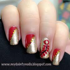 my dainty nails january 2013