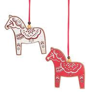 wooden tree ornaments swedish ornaments