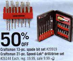 best black friday deals on craftsman drill black friday deal craftsman 21 pc speed lok drill drive set 26144