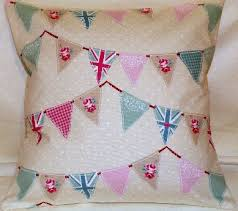 Shabby Chic Cushions by Olliebollieboo Designs Handmade Cushion Cover Cushions Pillow