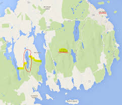Acadia National Park Map Rare Death At Acadia National Park U2014 Just Ahead Of July 8 2016