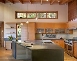 Concrete Kitchen Cabinets Kitchen Cabinets Made With Matching Grain Douglas Fir And Concrete