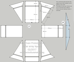 Solar Floor Plans Diy Solar Oven Prototype 1 U2013 Practical Sustainability Org