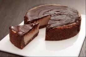 recette de cheesecake au cacao et zestes d u0027orange nappage