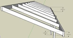 rafter spacing pergola beams rafters please help with spans sizes