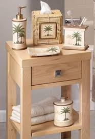 Palm Tree Bathroom Accessories by Best Tangerine Shower Curtain Tangerine Orange Bathroom Decor
