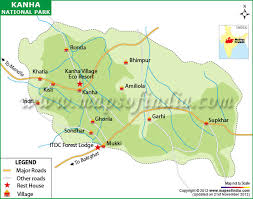 kanha national park and tiger reserve mp timings entry fee