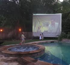 setup a backyard movie night picture on marvelous outdoor movie