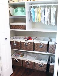 organizing the baby u0027s closet easy ideas u0026 tips pjs shelves and