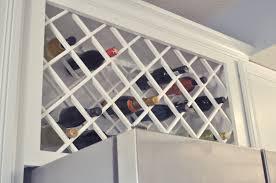 wine rack lattice home design ideas