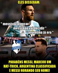 Memes Messi - messi coloca argentina na copa e memes bombam na web lance
