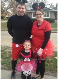 Family Halloween Costumes Ideas by Homemade Family Minnie And Mickey Mouse Halloween Costume Mickey