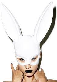 rabbit mask halloween bunny mask dolls kill