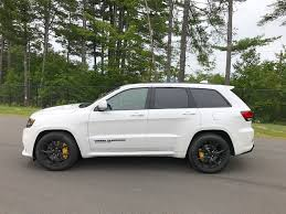 trackhawk jeep black 2018 jeep grand cherokee trackhawk test drive review autonation