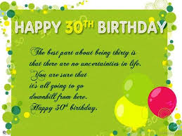 30th birthday card messages sample cover letter university