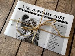 newspaper wedding programs wonderful newspaper wedding program template ideas exle