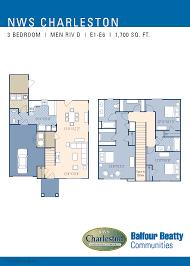 charleston afb housing floor plans nsa monterey fitch park neighborhood 3 4 bedroom homes designated