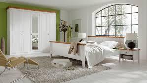 Schlafzimmerschrank Buche Massiv Landhausstil Schlafzimmer In Weiss