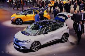scenic renault 2017 all new renault scenic is an overdesigned mpv with crossover looks