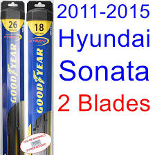 amazon com 2011 2015 hyundai sonata replacement wiper blade set