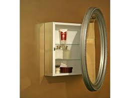 Recessed Medicine Cabinet With Mirror Art Deco Medicine Cabinet - Recessed medicine cabinet vs surface mount