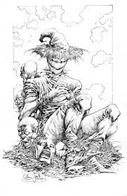 44 best scarecrow images on pinterest scarecrow batman drawings