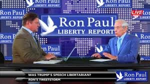 donald trump youtube channel ron s tweetstorm was trump s speech libertarian by ron paul
