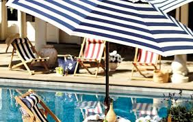 Large Tilting Patio Umbrella by Patio U0026 Pergola Yhftgbd Amazing Striped Patio Umbrella Outdoor 9