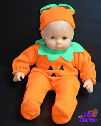 Baby Pumpkin Halloween Costumes Doll U0027s Halloween Costumes Giveaway Doll Diaries