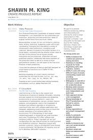 Film Resume Example by Beautiful Design Ideas Video Production Resume 14 Video Editor