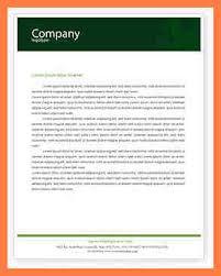5 letterhead template microsoft word company letterhead