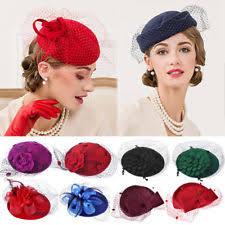 hair fascinators clip wedding fascinators headpieces for women ebay