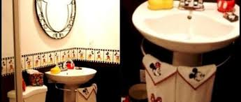 Kids Bathroom Collections 35 Best Mickey Mouse Bathroom Collection Ideas For Your Kids
