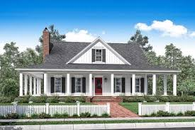 Country Home With Wrap Around Porch 3 Bed Country House Plan With Full Wraparound Porch 51748hz