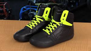 motorcycle riding sneakers alpinestars j 8 motorcycle riding shoes review video gallery