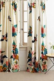 Curtains Printed Designs Best 25 Bird Curtains Ideas On Pinterest Anthropologie Curtains