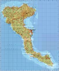 Greece Islands Map by Corfu Hotels Greece Corfu Travel Guide Corfu City Map