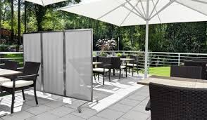 Patio Wind Screens by Garden And Balcony Wind Protection Made Of Different Materials
