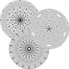 coloring pages free geometric design coloring pages geometric